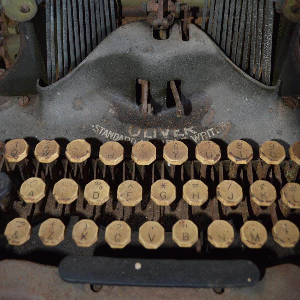 The Typing Machines | Story and Photos by S.K. Derban