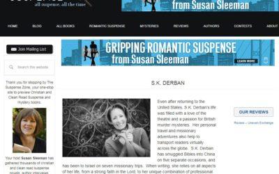 Suspense Zone Feature Author