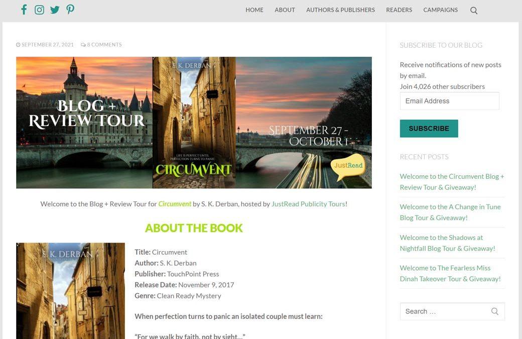 Circumvent Blog Review Giveaway Tour